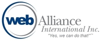 A great web designer: Web Alliance International, Inc., New York, NY logo