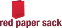 A great web designer: Red Paper Sack, Austin, TX logo