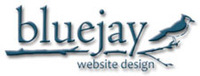 A great web designer: Bluejay Website Design, Salt Lake City, UT logo