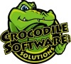 A great web designer: Crocodile Software, Houston, TX logo
