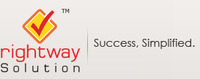 A great web designer: Rightway Solution, New York, NY logo