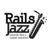 A great web designer: RailsJazz.com, IvanoFrankivsk, Ukraine logo