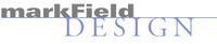 A great web designer: markField Design, Boston, MA logo