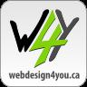 A great web designer: Webdesign4you.ca, Toronto, Canada logo