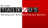 A great web designer: Talk2Us, Bryanston, South Africa logo