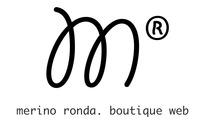 A great web designer: Merino Ronda. Boutique web, Santiago de Chile, Chile logo