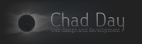 A great web designer: Chad Day Design and Development, Manitowoc, WI logo