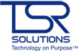 A great web designer: TSR Solutions, Milwaukee, WI logo