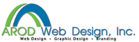 A great web designer: AROD Web Design, Inc., Houston, TX logo