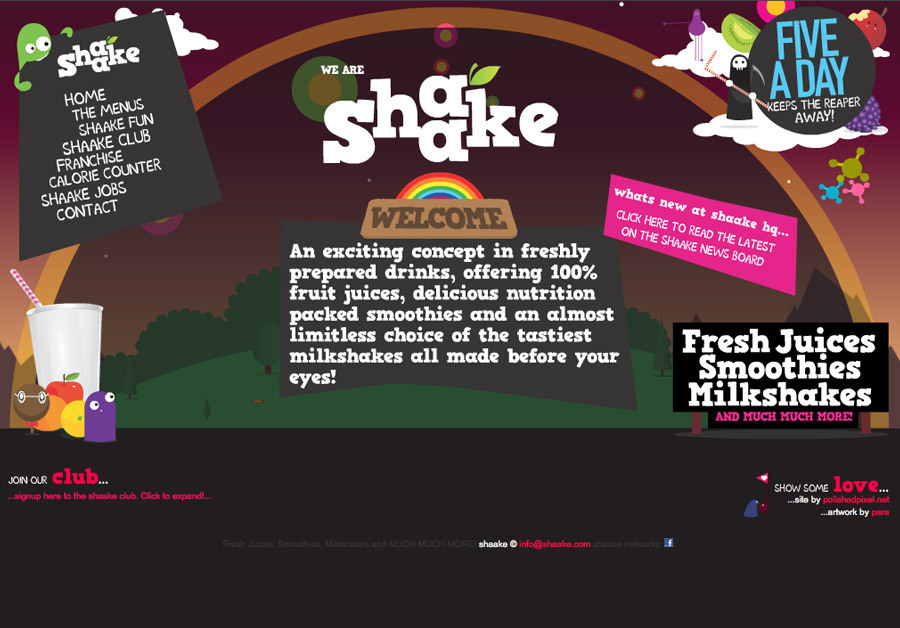 A great web design by polishedpixel.net, London, United Kingdom:
