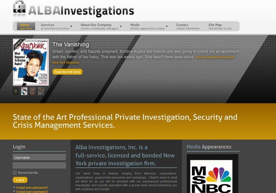 A great web design by Thraco Media, New York, NY: