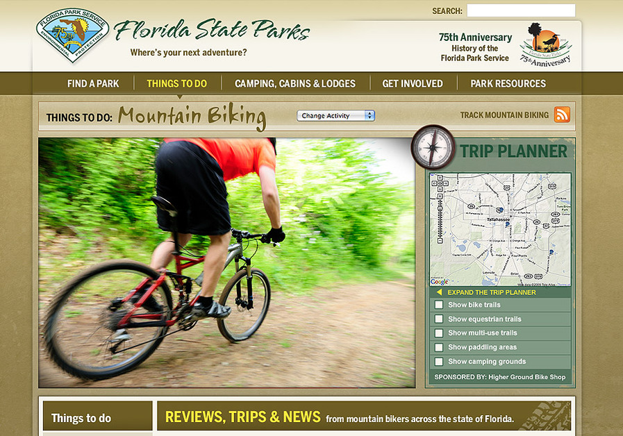 A great web design by White Dog Design Group, Tallahassee, FL:
