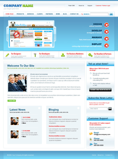 A great web design by a2z design needs, Hyderabad, India: