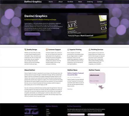 A great web design by Ben Stephan, Philadelphia, PA: