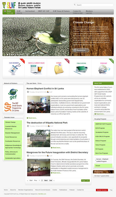 A great web design by Vishmitha.com, Colombo, Sri Lanka: