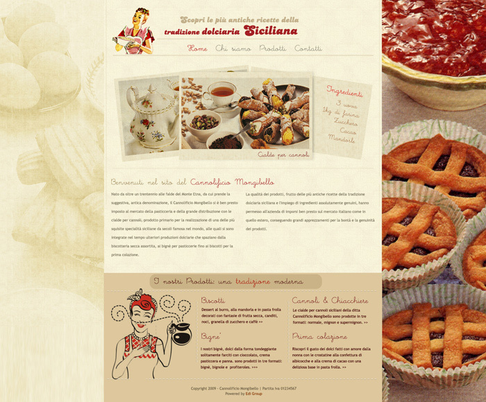 A great web design by Mascara Design, Italy, Italy: