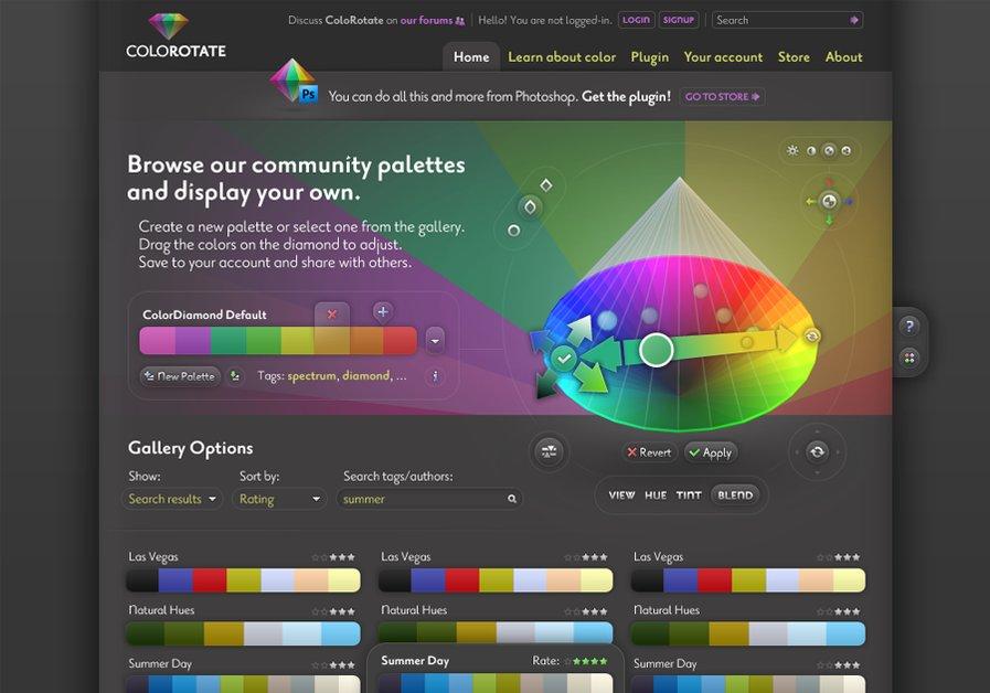 A great web design by Ovidiu Ancuta, Iasi, Romania: