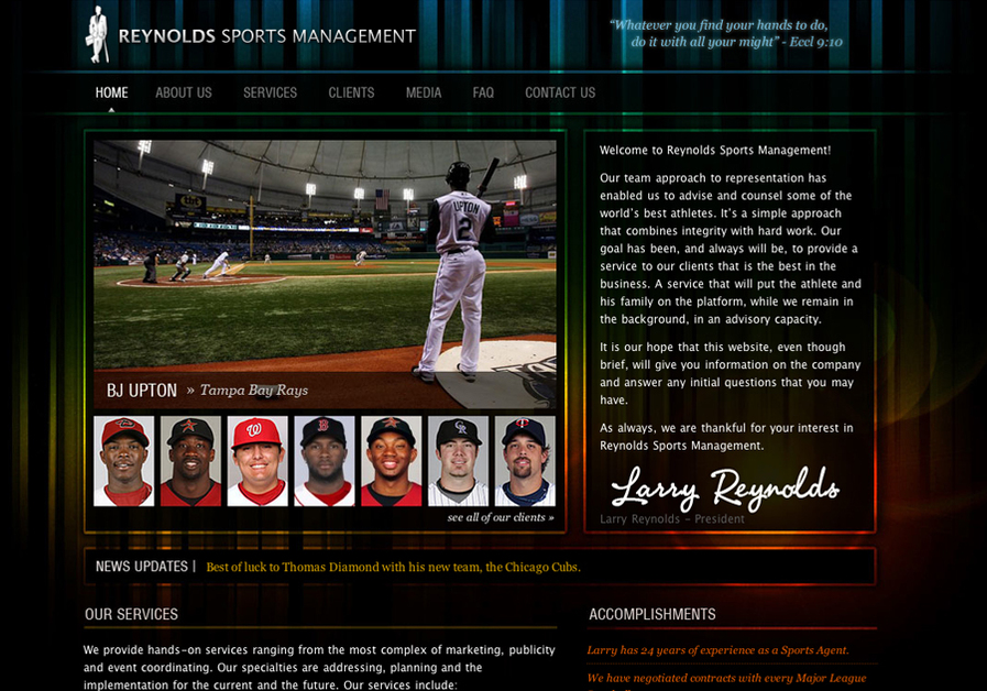A great web design by Design Kinetix, Los Angeles, CA: