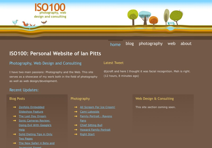 A great web design by ISO100, Baltimore, MD: