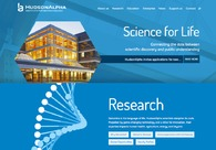 A great web design by SPINEN, Inc., Macon, GA: Responsive Website, Biotechnology