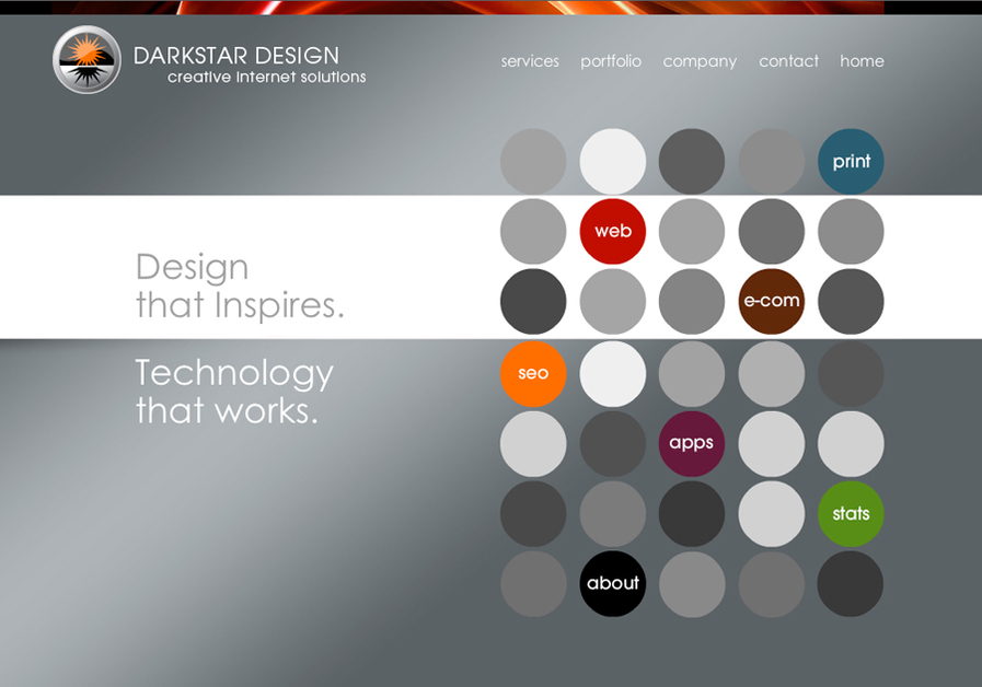 A great web design by Darkstar Design, Nashville, TN: