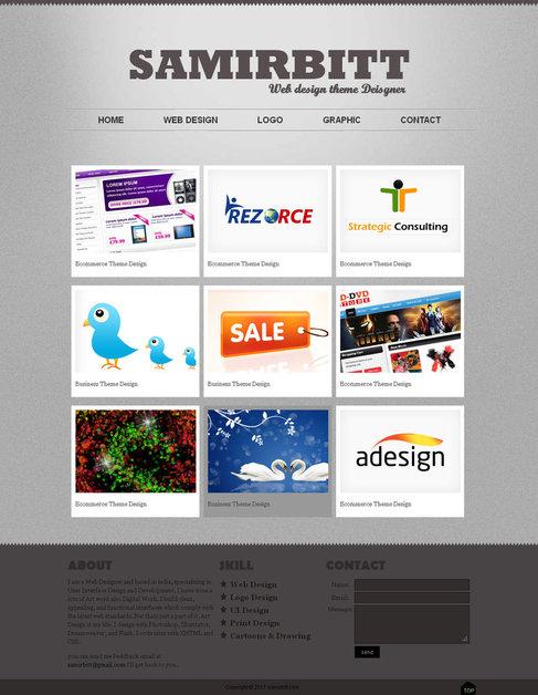 A great web design by samirbitt.com, Bhubaneswar, India: