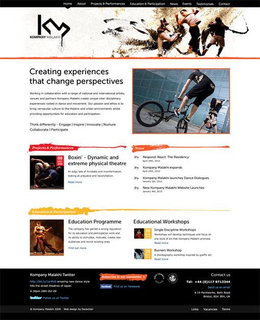 A great web design by Deckchair, Bristol, United Kingdom: