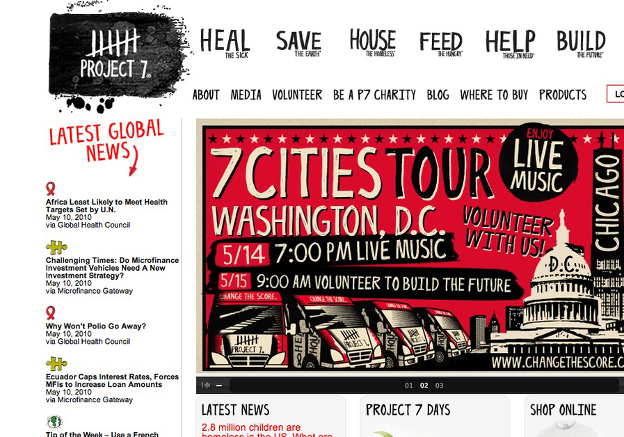 A great web design by Bill Erickson, Austin, TX: