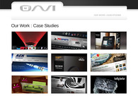 A great web design by Onvi, Los Angeles, CA: