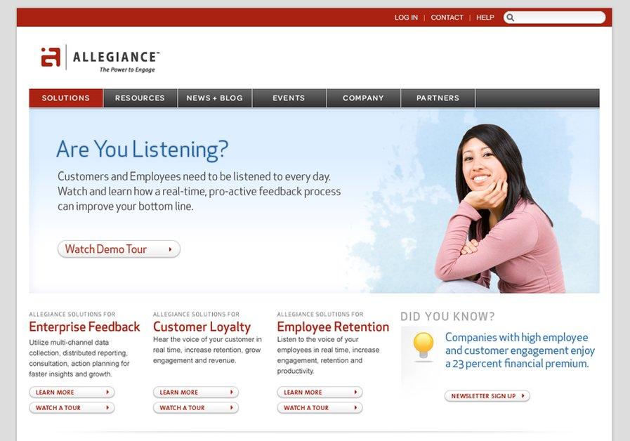 A great web design by Red Tiki Design Studio, Salt Lake City, UT: