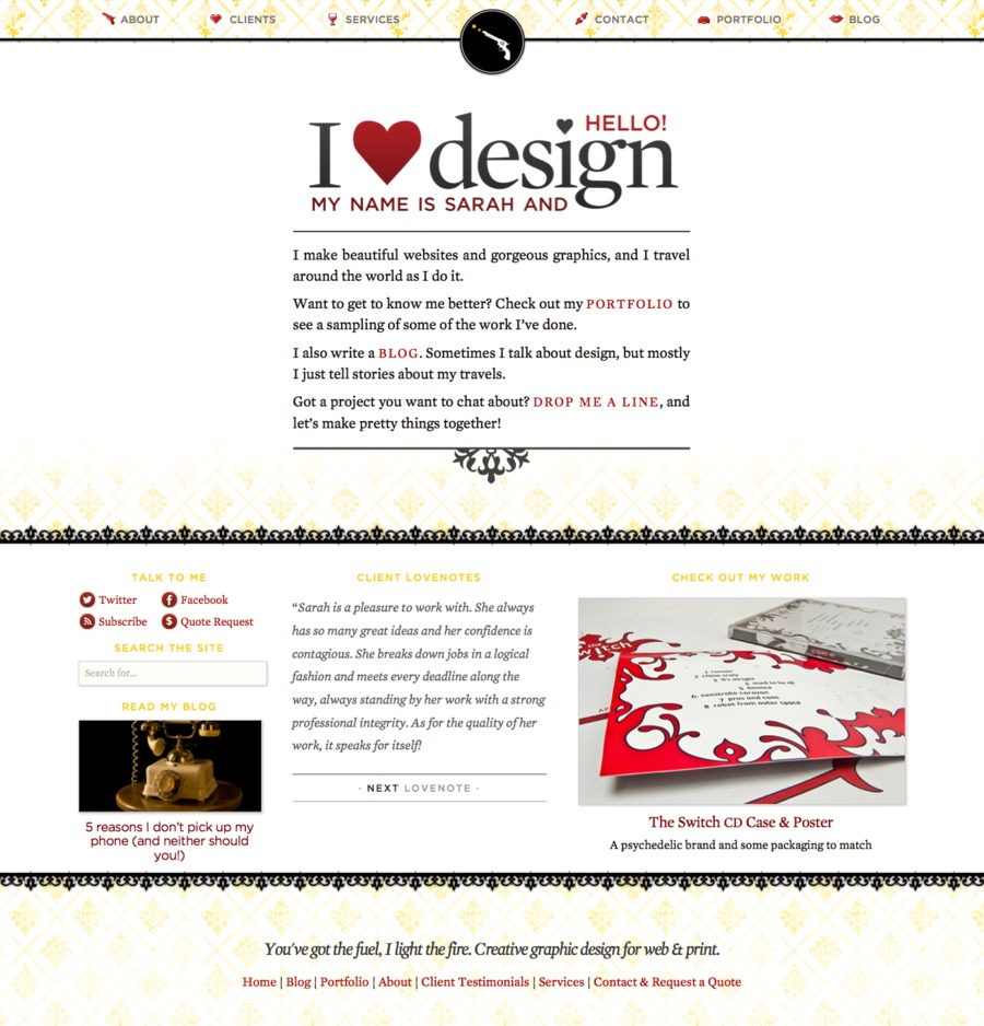 A great web design by Triggers & Sparks, Montreal, Canada: