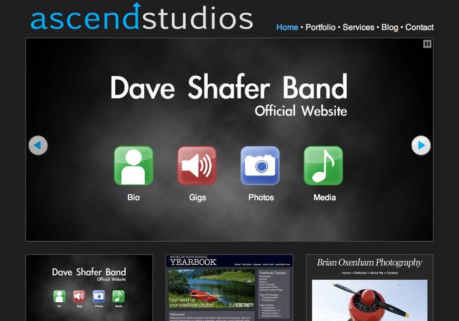 A great web design by Ascend Studios, Sacramento, CA: