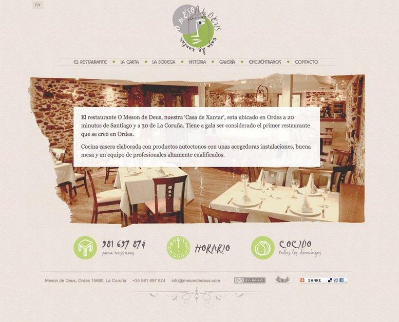 A great web design by Victor Souto Carrera, Santiago de Compostela, Spain: