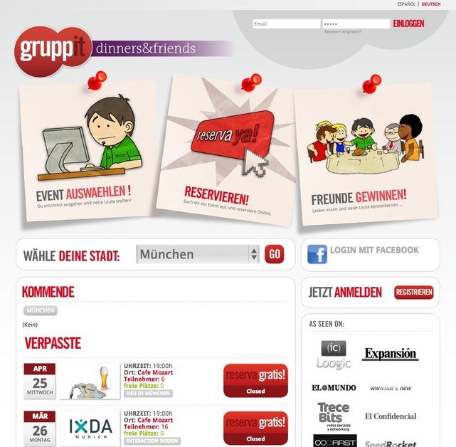 A great web design by Travelideas, Munich, Germany: