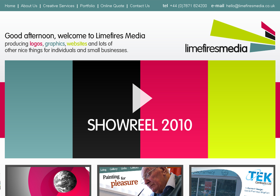 A great web design by Limefires Media, Birmingham, United Kingdom: