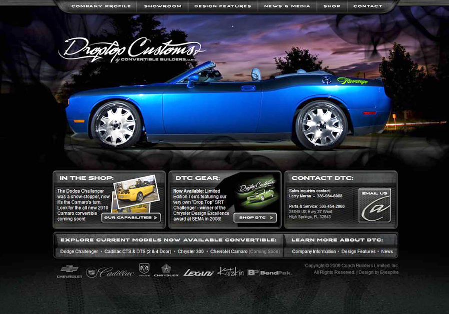 A great web design by Eyespike Design, Jacksonville, FL: