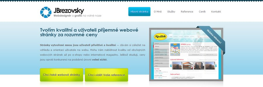 A great web design by JBrezovsky, Koprivnice, Czech Republic: