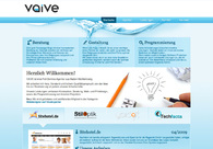 A great web design by VAIVE, Uehlingen, Germany: