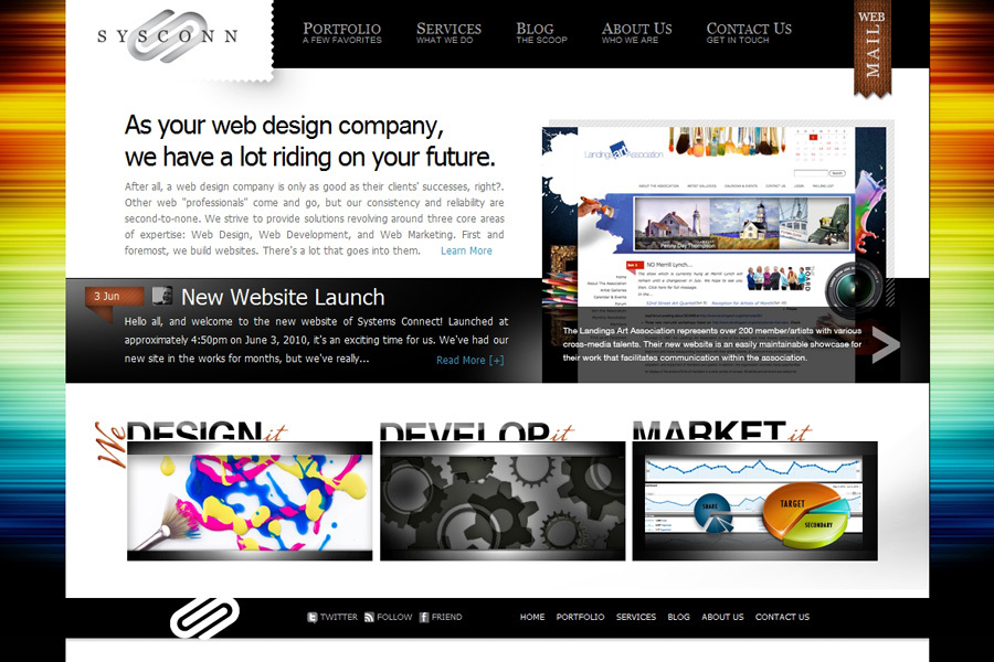 A great web design by Systems Connect, Savannah, GA:
