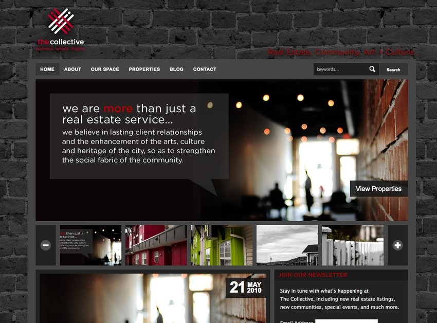 A great web design by Straydog Marketing+Design, Vancouver, Canada: