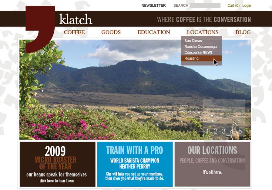 A great web design by ASTER* avenue, Orange County, CA: