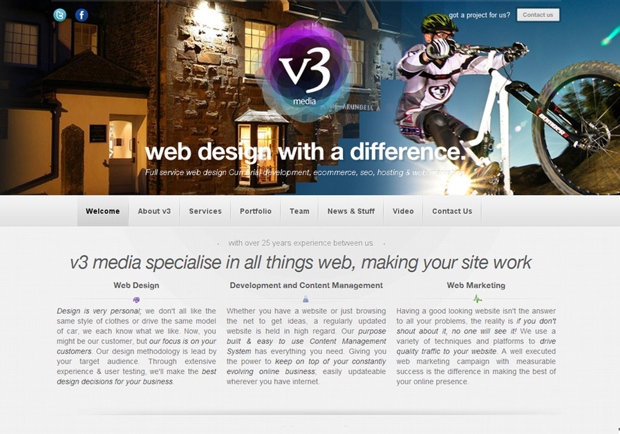 A great web design by v3 Media UK LTD, Eden, United Kingdom: