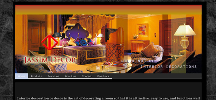 A great web design by Jass Designs, Bangalore, India: