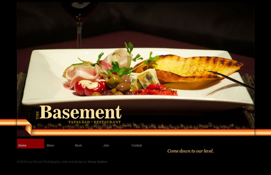 A great web design by Sense Studios, Maryborough, Australia: