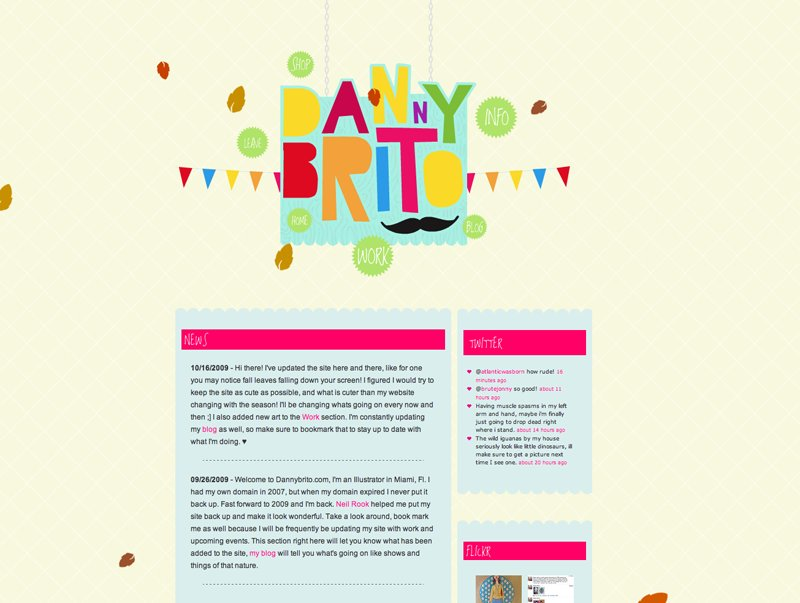 A great web design by Neil J Rook, London, United Kingdom:
