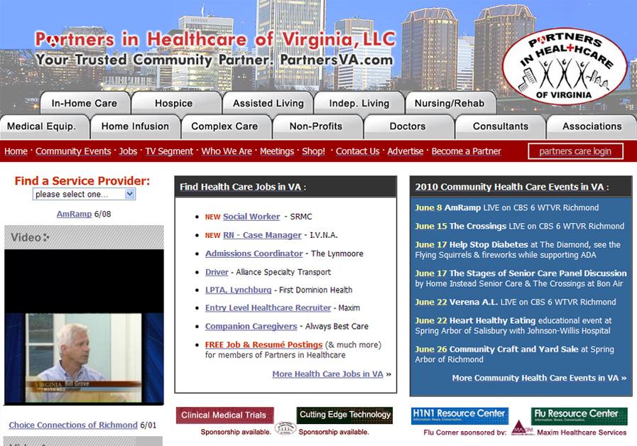 A great web design by Award Web Services, LLC, Richmond, VA: