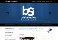 A great web design by Brisk Studios, Bend, OR: