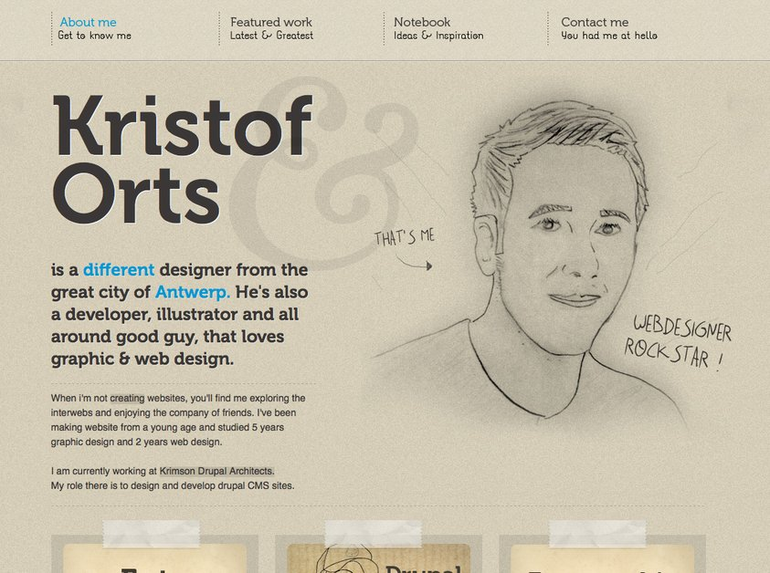 A great web design by A Different Design, Antwerp, Belgium: