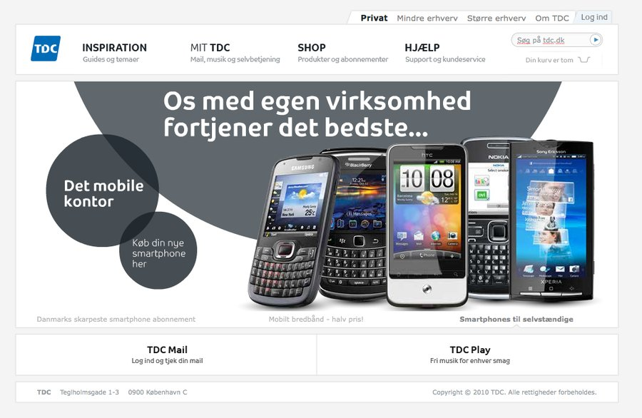 A great web design by Paprika Consulting, Copenhagen, Denmark: