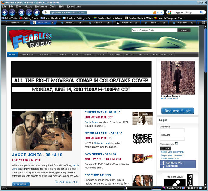 A great web design by Fearless Networks, Chicago, IL: